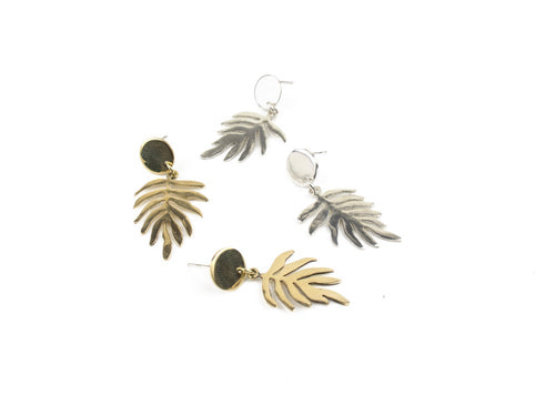 Fern Drop Earrings