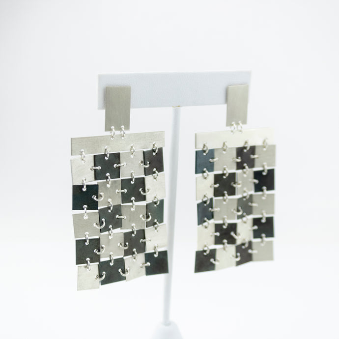 Race Flag Earrings