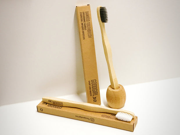 Bamboo toothbrushes by Goodgirl xo