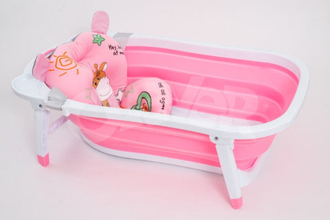 Bañera Plegable Con Baby Splash