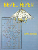 Vintage 1991 'Bevel Fever' Stained Pattern Book - Amazing patterns for panels and lampshades - OOP NOS