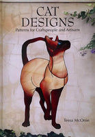 Cat Designs 2006 Stained Glass Pattern Book Tessa McOnie - Awesome patterns!