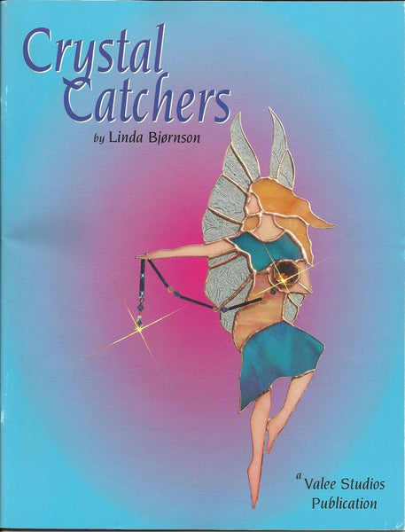 Crystal Catchers Stained Glass Pattern Book OOP - Great suncatcher patterns!