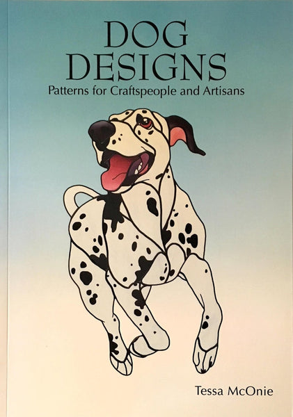 Dog Designs 2007 Stained Glass Pattern Book Tessa McOnie - Awesome patterns!