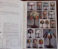 OOP 1994 GlasDesign 'Lamps 2' Stained Glass Patterns - Classic Art Nouveau Lampshades