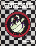 Vintage 1986 'Countryroads' Stained Glass Pattern Book - Farm animals, rooster, pig, cow, duck and more!