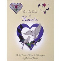For the Love of Hearts Stained Glass Patterns - Wonderful Heart Designs!