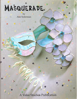Masquerade Stained Glass Pattern Book OOP ~ Awesome Mardi Gras patterns