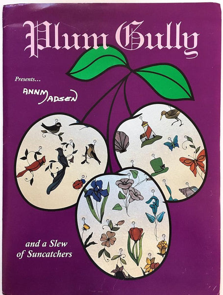 OOP Rare 1993 'Plum Gully' Stained Glass Pattern - 70+ Suncatcher patterns! NOS