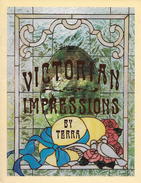 OOP 1997 CKE 'Victorian Impressions' Pattern Book by Terra - Classic full size patterns! NOS