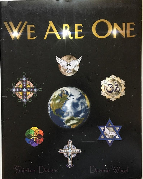 2005 'We Are One' Stained Glass Pattern Book - NOS - Awesome patterns! Deverie Wood - Hard to find!
