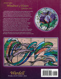 "1999 ""Windows of Vision"" - Studio Designer Series #4 featuring Leslie Perlis Glass Studio NOS"