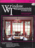 1998 'Window Treatments in Stained Glass' - Volume 2 - Wonderful patterns!!
