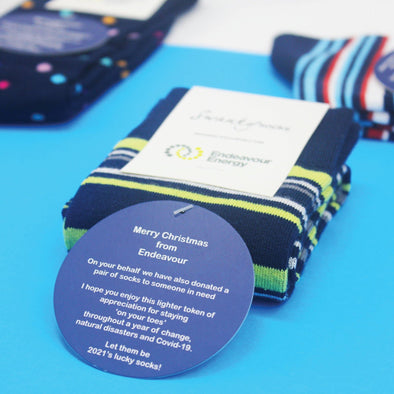 Brand Collaboration: Swanky Socks x Endeavour Energy - SwankySocks