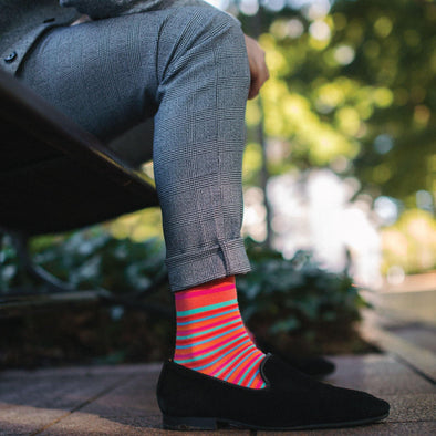 How To Wear Your Swanky Socks For Melbourne Cup - SwankySocks