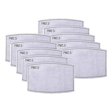 10 PACK FILTERS - PM2.5 ACTIVATED CARBON FILTER