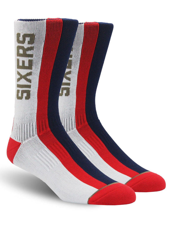 Sixers Vertical Stripe