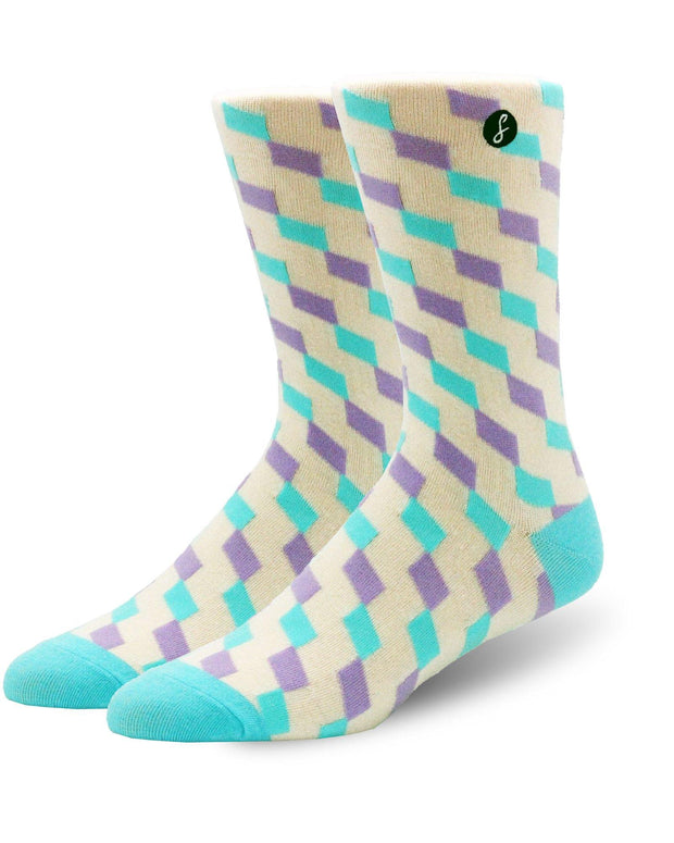 Twisted Diamond Socks
