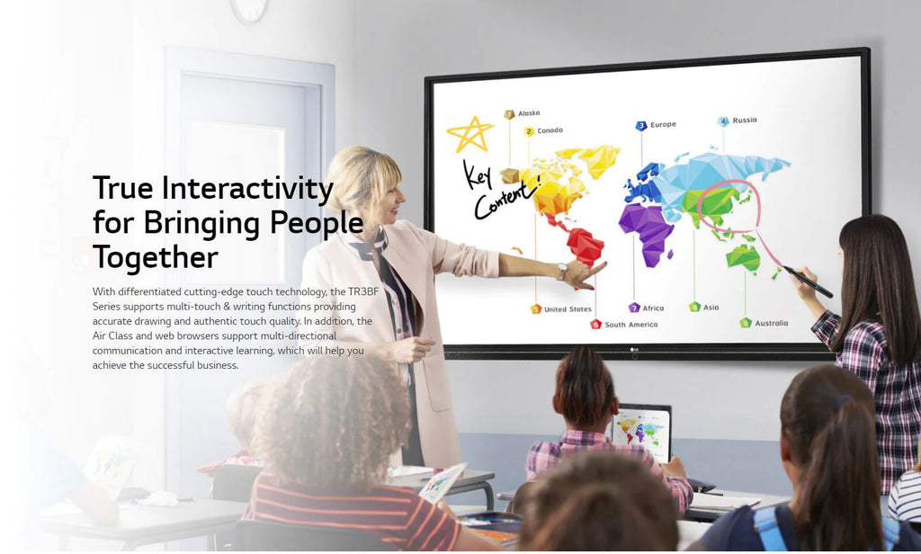 LG 86TR3BF-B True Interactivity for Bringing People Together