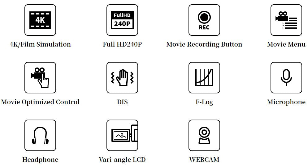 fujifilm x-s10 features.