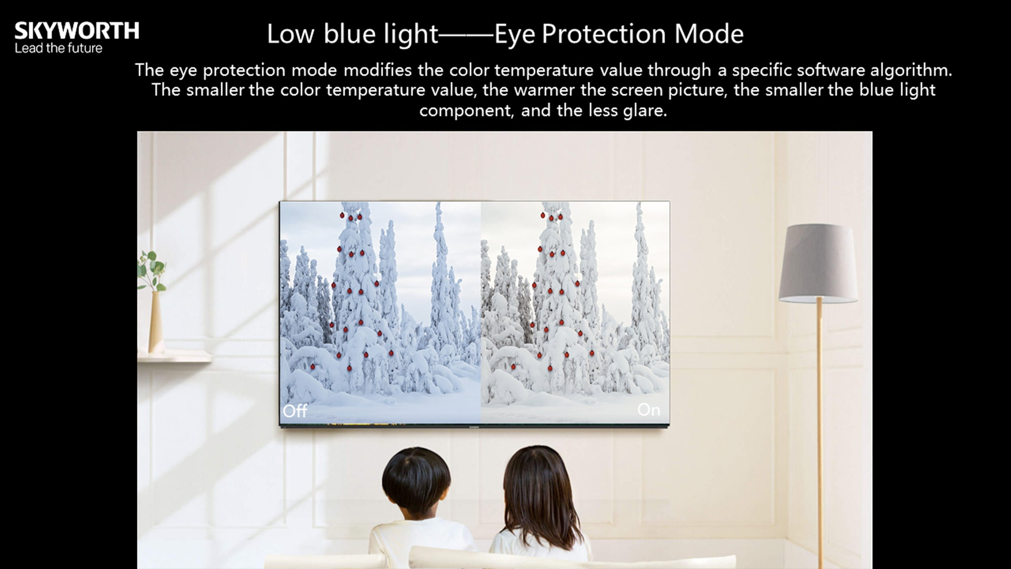 Low blue light Eye Protection Mode