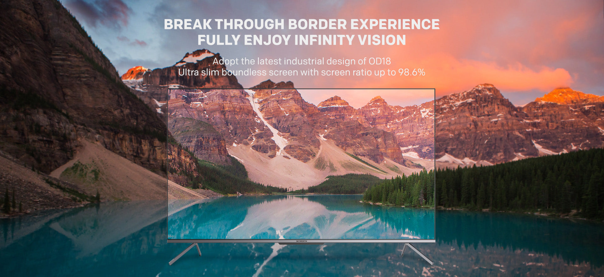 Infinity vision
