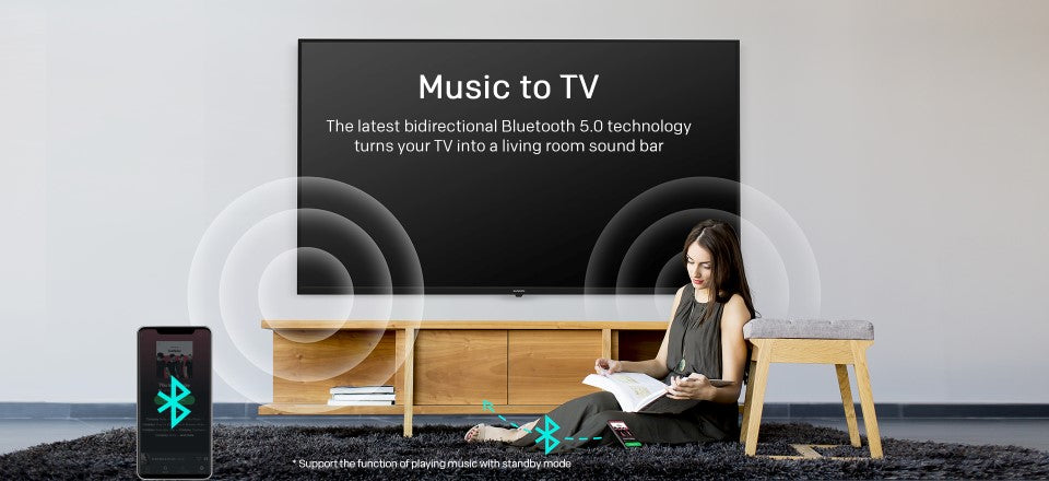 Music to TV