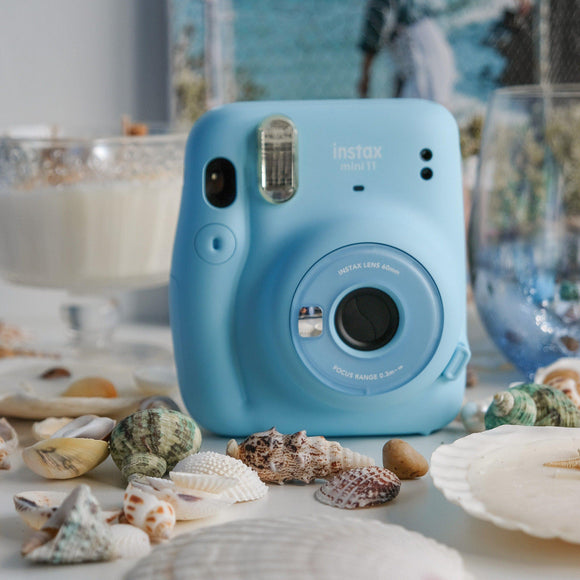 instax Mini 11 Film Camera (Sky Blue)