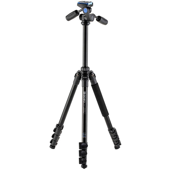 Benro TAD18AHD1A Adventure Aluminum Tripod with HD1A Pan and Tilt Head-GrandStores Saudi Arabia