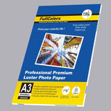 Full colors a3 (297x420mm) professional premium luster inkjet photo paper 270gsm 20 sheets-FullColors-GrandStores Saudi Arabia
