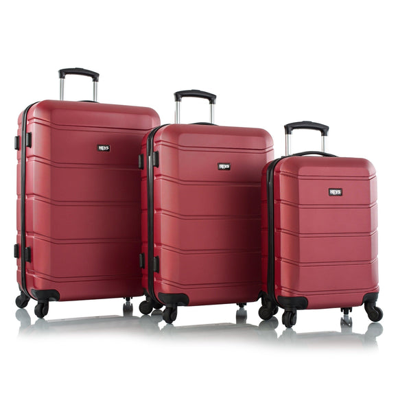 Heys, ArmourLite, Hard Trolly 3 pcs set (Red)-GrandStores Saudi Arabia