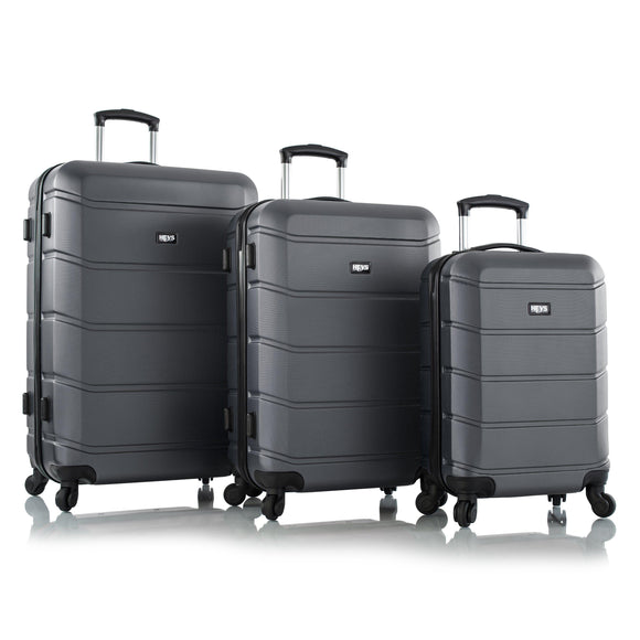 Heys, ArmourLite, Hard Trolly 3 pcs set (Gray)-GrandStores Saudi Arabia