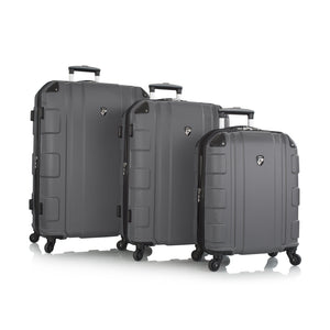 Heys, Azor, Hard Trolly 3 pcs set (Gray)-GrandStores Saudi Arabia