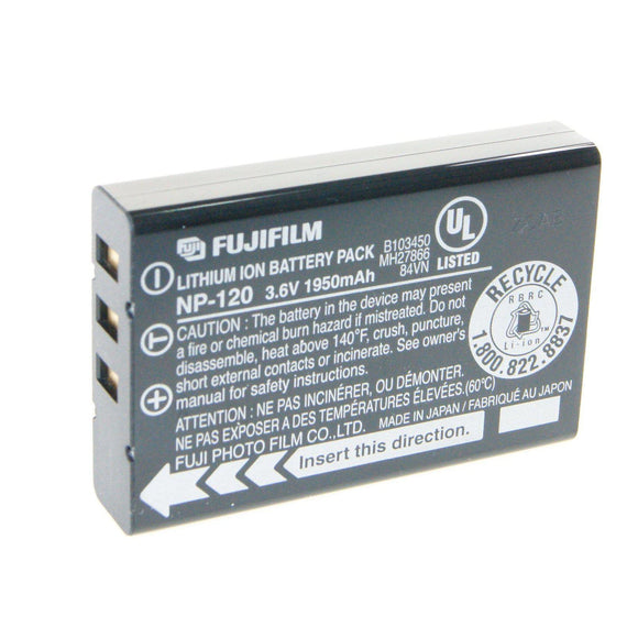 FUJIFILM NP-120 Rechargeable Lithium-Ion Battery-GrandStores Saudi Arabia
