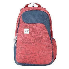 Wildcraft School Bag WIKI - Alpha1 Jacquard (Red)-GrandStores Saudi Arabia