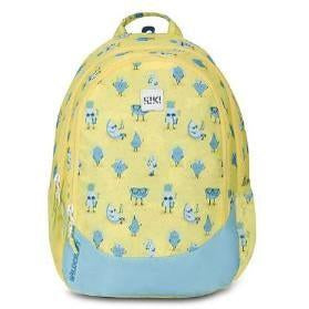 Wildcraft school bag WIKI-Junior1 Fruits (Yellow)-GrandStores Saudi Arabia