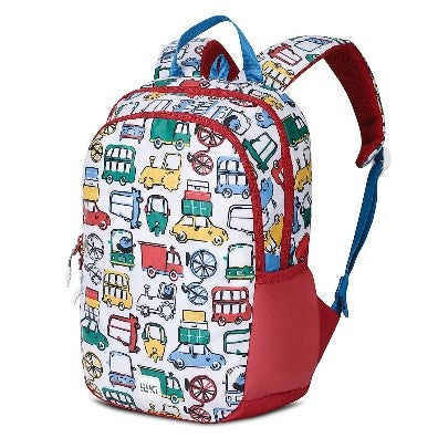 Wildcraft school bag WIKI-Junior1 Pixel (Red)-GrandStores Saudi Arabia