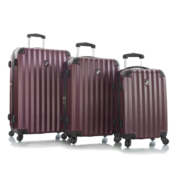 HEYS RIDGE 3 PC. SET (MAROON)-GrandStores Saudi Arabia