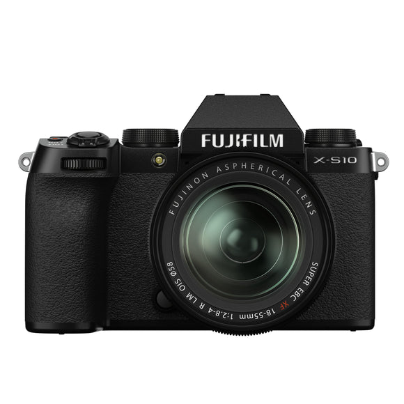 Fujifilm x-s10 mirrorless digital camera/xf18-55mm (black)-Fujifilm-GrandStores Saudi Arabia