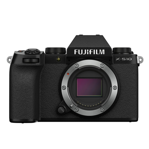 Fujifilm x-s10 mirrorless digital camera body (black)-Fujifilm-GrandStores Saudi Arabia