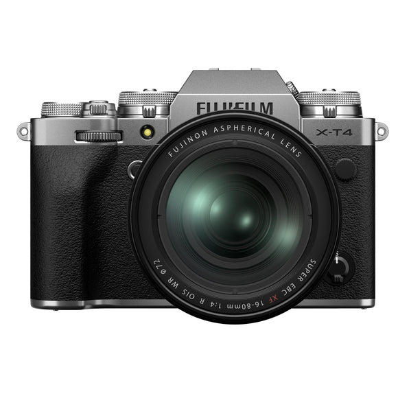 FUJIIFLM Mirroless Camera X-T4/16-80mm Kit (Silver)-FUJIFILM-GrandStores Saudi Arabia