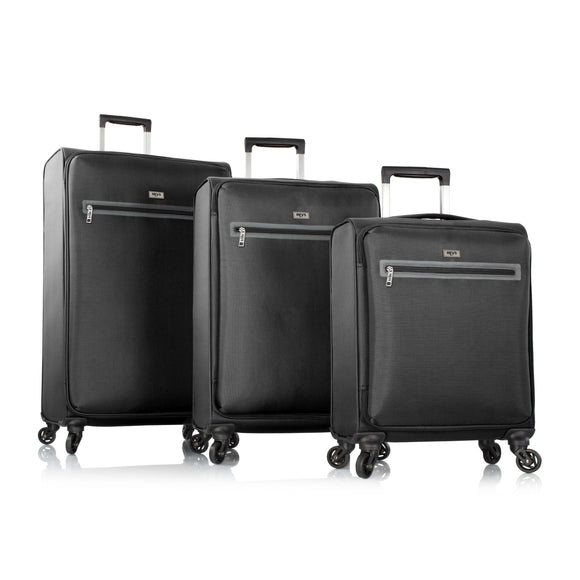 Heys, Xero-G Elite 3pc. Set (Black)– The World's Lightest Spinner Luggage-GrandStores Saudi Arabia