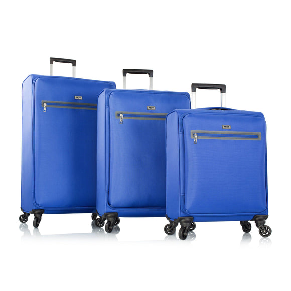 Heys, Xero-G Elite 3pc. Set (Blue)– The World's Lightest Spinner Luggage-GrandStores Saudi Arabia