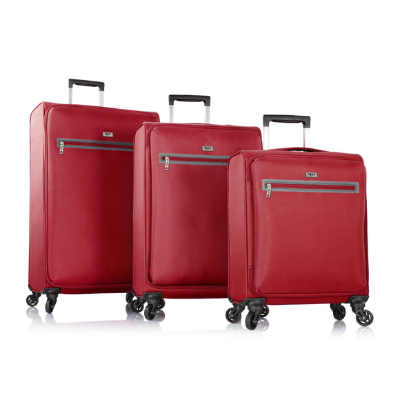 Heys, Xero-G Elite 3pc. Set (Red)– The World's Lightest Spinner Luggage-GrandStores Saudi Arabia