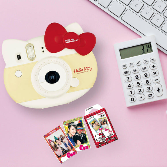FUJIFILM INSTAX MINI HELLO KITTY INSTANT FILM CAMERA (RED)-GrandStores Saudi Arabia