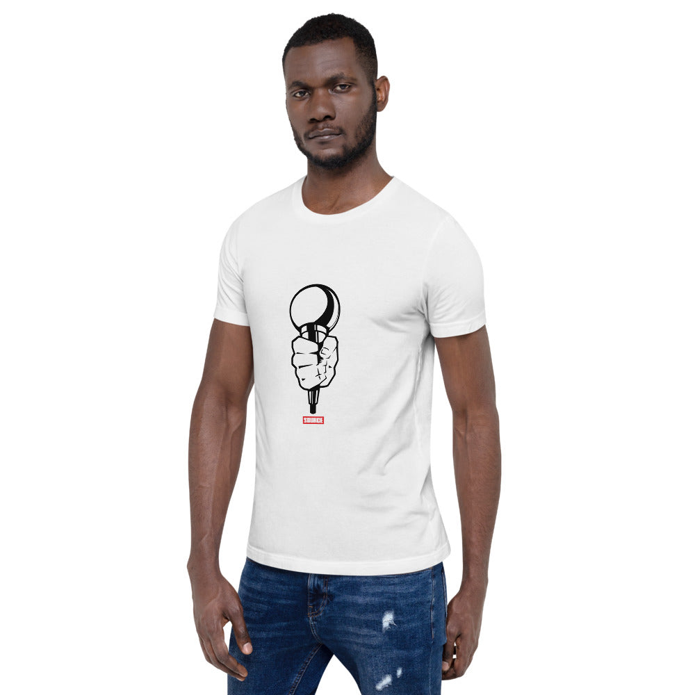 The Source Mic Short-Sleeve Unisex T-Shirt