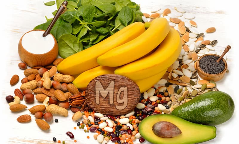 Foods that can help with magnesium deficiency