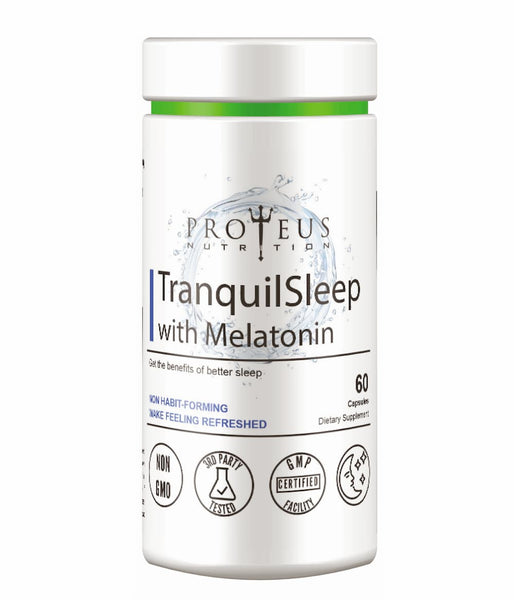 Natural supplement for sleep from Proteus Nutrition