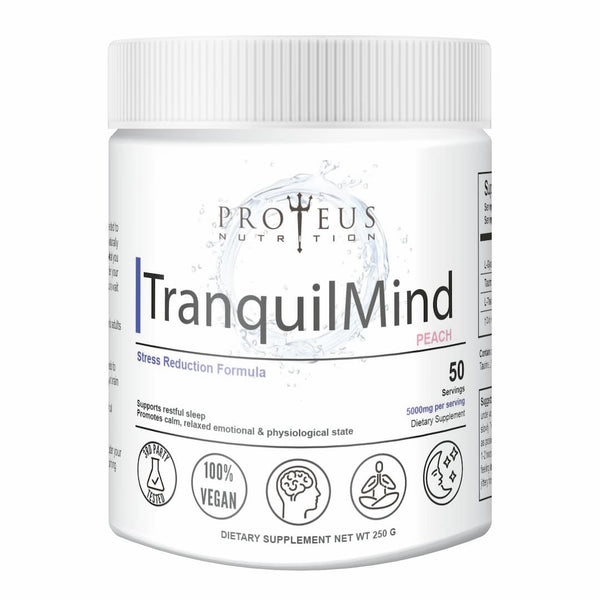 Feel relaxed and stress free with TranquilMind from Proteus Nutrition