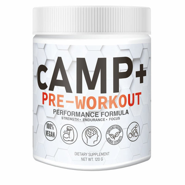 Boost your energy and focus during your workout with cAMP+ Pre-Workout from Proteus Nutrition